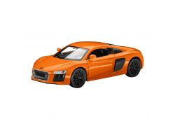 Audi R8 orange à friction 1/38